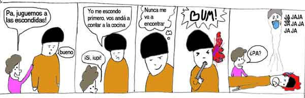 #00034 Escondidas suicidio fantasma 