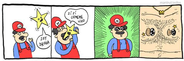 #01903 mario videojuegos drogas
